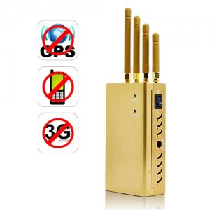 High Power Signal Jammer with Highly Portable Design for GPS/Cell Phone/3G